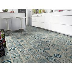 "Tarkett Starfloor Click 30 ""Retro Indigo"" Vinyl Floor 