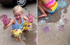 5 Ways Take Sidewalk Chalk to the Next Level by letslassothemoon #Kids #Sidewalk_Chalk #letslassothemoon
