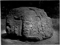 Maya Quiriguá, found in 1883. At the Brooklyn Museum, USA.
