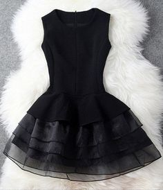 Black short prom dresses, summer dresses #buyable