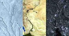 Rios em três mundos contam histórias diferentes  Estudo descobre que a história da paisagem de Titã se assemelha à de Marte, não da Terra O ambiente em Titã , a maior lua de Saturno , pode parecer surpreendentemente familiar: as nuvens se condensam e chovem na superfície, alimentando rios que correm para ... Leia o Artigo no Blog #PlanetologiaComparativa