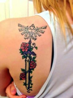 Zelda tattoo... I NEED THIS ❤️❤️❤️❤️