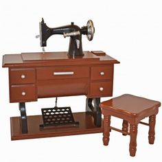 1930 Style Sewing Machine Set for 18 inch Dolls & American Girl Doll®