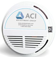 Photo Electric Smoke Detector distributed by Operation Fire Safety thanks to ACI Adjustment Group