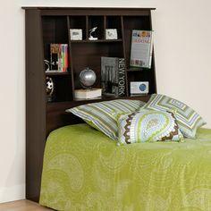 Prepac Storage Bookcase Headboard