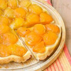 Tatin d'été abricot - amande