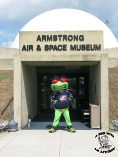 The Armstrong Air & Space Museum was awesome! I had a blast!