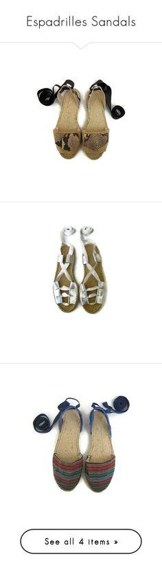 Espadrilles Sandals by maslindadesigns on Polyvore