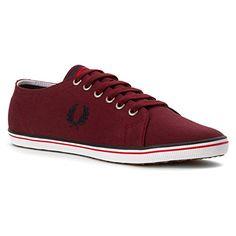 Fred Perry Kingston Twill Porto B6259U122, Herren Sneaker - EU 44 - http://on-line-kaufen.de/fred-perry/44-eu-fred-perry-kingston-twill-porto-b6259u122