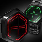 LED Watch Design with Time