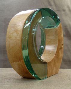 Wat een mooie combinatie met hout! Waterstone Gallery :: Archive - Stephen Adams