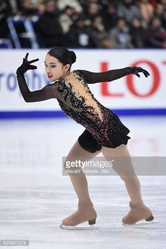 Karen Chen of the USA competes in the Ladies free skating during the ISU Grand Prix of Figure Skating NHK Trophy on November 26, 2016 in Sapporo, Japan.