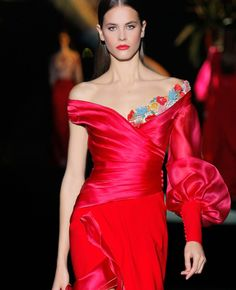 Evening Dresses, Prom Dresses, Formal Dresses, Havana Nights Dress, Hannibal Laguna, Race Wear, Long Gowns, Couture Collection, Elegant Dresses