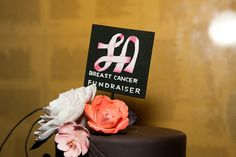 Inaugural LA Breast Cancer Fundraiser, The Cake