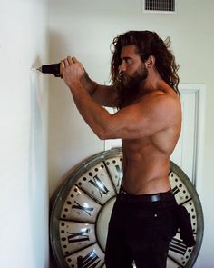 Image about sexy in Brock O'hurn by Liar. Moustache, Brock Ohurn, Hipster Noir, Beard Lover, Little Bit, Male Physique, Good Looking Men, Male Beauty, Gorgeous Men