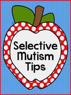Selective Mutism Tips. @Kelly Teske Goldsworthy Teske Goldsworthy