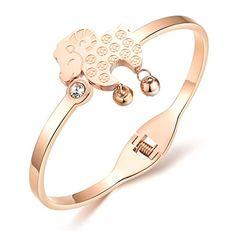 BUYGO Titanium rose gold plated bracelet Ms. lamb BUYGO http://www.amazon.com/dp/B011E79TIG/ref=cm_sw_r_pi_dp_EVuZvb16T5ZMQ