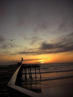 Pismo Beach sun set. (close to) Santa Maria, California