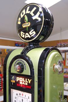 Vault's meticulous restoration of a beautiful Wayne Model 866 Polly Gas pump, circa 1937. www.vaultgarage.com ….. #Americana #artdeco #garageremodel #gasolinepump #ultimategarage #craftsmanship #restoration #Wayne866 #PollyGas #dreamgarage #mancave #AmericanMade #MadeinUSA #garageluxury #customgarage #goodlife #garage #garagelife #garagelifestyle #garagelove #garagemakeover #homedesign #garagedesign #garagedecor #homedecor #sportscars #classiccars #cars