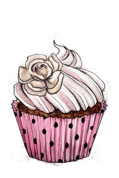 Cupcake 02 Art Print