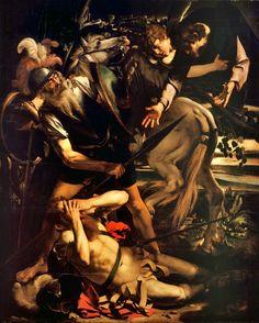 """Michelangelo Merisi """"Caravaggio"""" - Conversione di Saulo ( I versione), 1600"""
