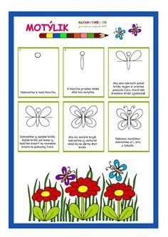 Motýlik - učíme sa kresliť