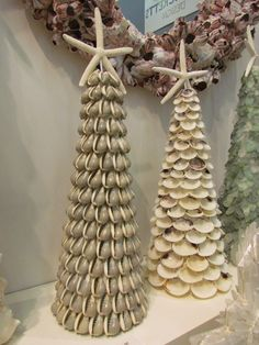 Lovely Shell Accent pieces  Coastal Decor Gone Urban