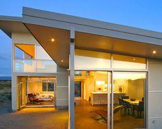 residential architecture peka peka beach house Space Architecture, Residential Architecture, Contemporary Beach House, Architect House, Architects, New Homes, Outdoor Decor, Home Decor, Facades