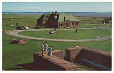 Postcards - Canada # 86 - Fort Beausejour, Sackville, New Brunswick