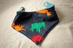Items similar to Upcycled Fabric Bandana Bib on Etsy Bandana Bib, Infants, Newborns, Upcycle, Coin Purse, Babies, Sewing, Knitting, Trending Outfits