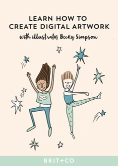 Hey, doodle lovers! Turn your drawings into digital art with this online class.