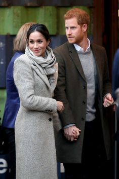 January 2018 - Cute Pictures of Prince Harry and Meghan Markle - Photos