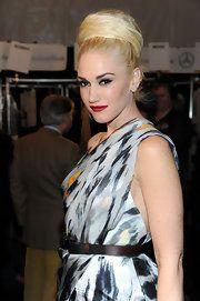 Gwen Stefani Classic Bun