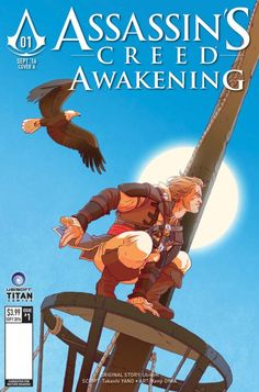 All Assassin's Creed: Awakening #1 Cover D - Kate Brown