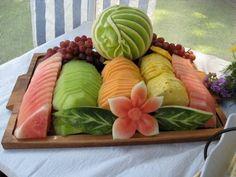 Fresh Fruit Platter! Amazing!
