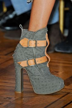 Spring 2013 Fashion Week Shoes  vivienne westwood #fashion #style #TheSaloon http://www.etsy.com/shop/TheSaloon