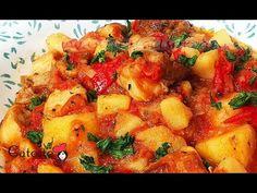 TOCANITA DE CARTOFI CU CARNE - Ca la Mama Acasa! - YouTube Ratatouille, Cooking, Ethnic Recipes, Sweet, Youtube, Pork, Kitchen, Candy, Youtubers