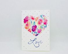 Items similar to Clink Greeting Card - Perfect for anniversary, wedding, saying i love you on Etsy Say I Love You, My Love, Sketches Of Love, Red Envelope, Greeting Cards, Anniversary, Wedding, Etsy, My Boo
