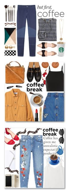 """Winners for Caffeine Fix: Coffee Break"" by polyvore ❤ liked on Polyvore featuring See by Chloé, Sole Society, Louise Young Cosmetics, Givenchy, J.Crew, H&M, casual, chic, preppy and jeans"