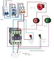 Esquemas eléctricos: MARCHA PARO Y, PARADA DE EMERGENCIA MONOFASICO