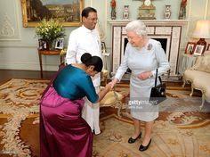 The President of Sri Lanka Mr Maithripala Sirisena, and his wife Jayanthi meet…