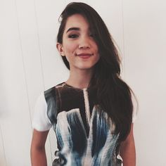 Pin for Later: 8 Famous Teens Who Are Wise Beyond Their Years Rowan Blanchard