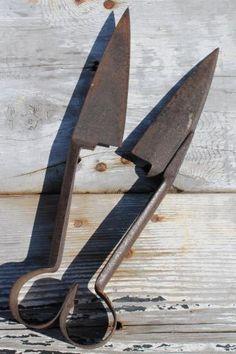 Old Handmade Wooden Rake Farm Item Antique Hand Tool