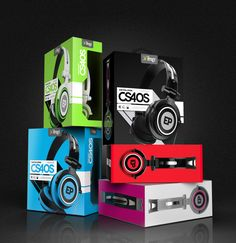 Headphone Package Design PD