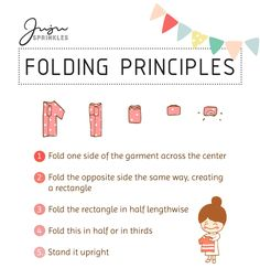 Everything You Ever Need To Know About KonMari Folding – Juju Sprinkles Konmari Method Folding, Bedroom Storage For Small Rooms, Marie Kondo, Life Organization, Decluttering, Getting Organized, Clean House, Planer, Need To Know
