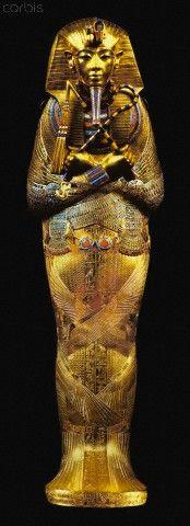 Third coffin of Tutankhamun