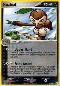 Pokemon - Nuzleaf (45) - EX Hidden Legends - Reverse Holofoil ** Visit the image link more details.