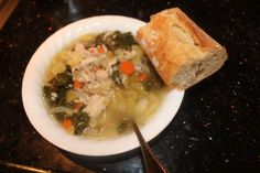Cooking and Kula: Crockpot Turkey (or Chicken), Quinoa & Vegetable Soup