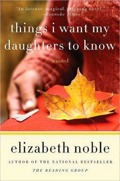 How do you cope in a world without your mother?    When Barbara realizes time is running out, she writes letters to her four daughters, aware that they'll be facing the trials and triumphs of life without her at their side. But how can she leave them when they still have so much growing up to do?