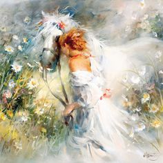 White Dream Art Print by Willem Haenraets Easyart. Arte Equina, Wow Art, Dream Art, Equine Art, Canvas Prints, Art Prints, Horse Art, Beautiful Paintings, Amazing Artwork